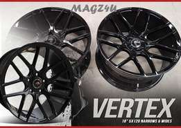 MAGZ4U WHEEL AND TYRE EXPERTS...Vertex Rep Mags Available in store.