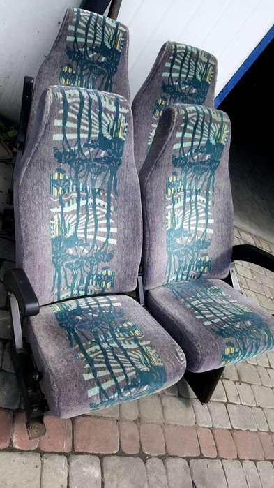 Mercedes-Benz fotele 57 sztuk BOVA
