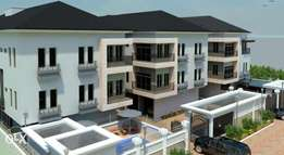 LUXURY 4 bedroom terrace duplex +1rm BQ, off glover road ikoyi, lagos.