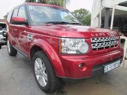 Land Rover Discovery 4 SDV6 HSE, 2011, 126000km, Maroon Colour