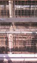 Complete set of battery cages for sale at eneka first market