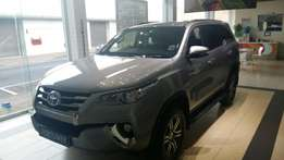 Brand new Toyota fortuner 2.8GD 4X2 AT only 1