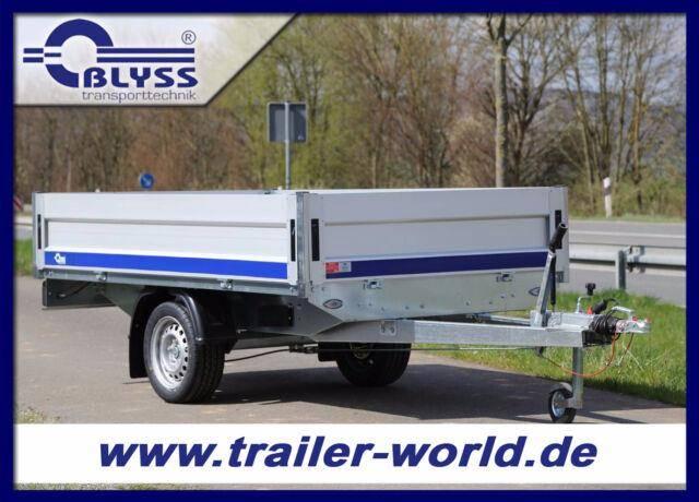 Blyss Hochlader Anhänger 1350kg GG 260x150x40 cm