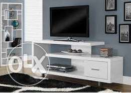Tv stands\ White in clor
