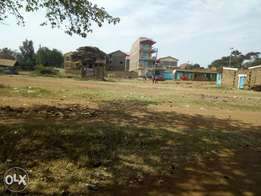 Juja 1/4 commercial plot.