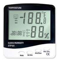 3 in 1 Thermo-Hygrometer & Clock