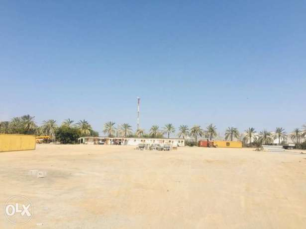 Open yard for storage near sohar port