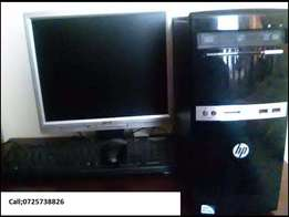 Hp Tower core 2 duo core 3.2 GHZ 500GB HardDisk