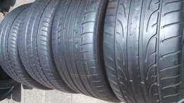 4 X 295/35/21 Tyres for sell