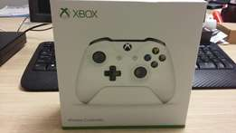Xbox One Controller white in color