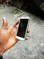 Samsung s3 with few cracks for sale at a giveaway price