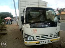 Isuzu NKR truck for sale.