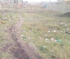 Plot on Sale in Tassia, Nairobi Near Nyayo Embakasi