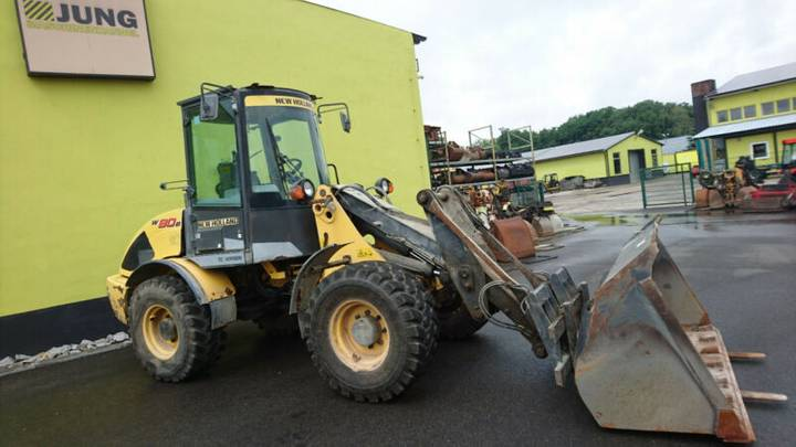New Holland W80 B - 2009