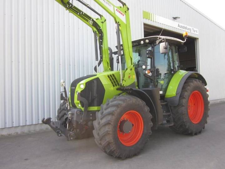 Claas arion 650 cis mit frontlader fl 120 c - 2016