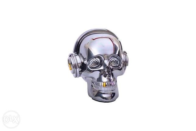 Skull Head Bluetooth Wireless Stereo Speaker مدينة نصر -  1