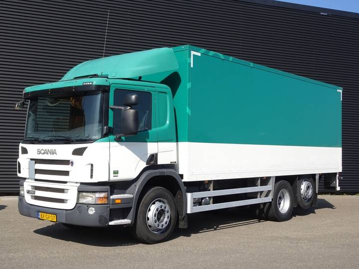 Scania P360 6x2 EURO 5 / TAIL LIFT / LBW - 2009