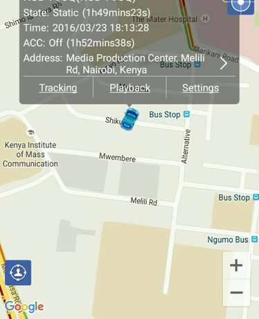GPRS Car tracking,Accurate,precise,reliable ..One off payment. Hurlingham - image 1
