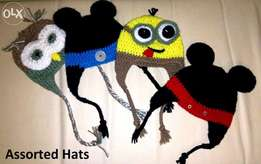 Assorted Crotchet Beenies