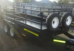 """3ton Double axle 15""""wheels &lED lights from R30500"""