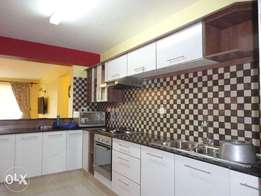 Furnished 3 bedroom plus dsq for rent in kileleshwa