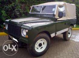 Land Rover 88. Series 3. Petrol. 4WD