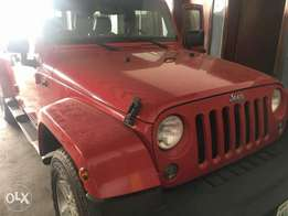2013 Jeep Wrangler bought brand new for quick sale.