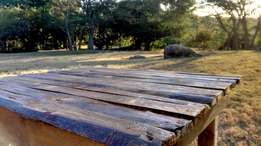 Rustic Garden Picnic Table