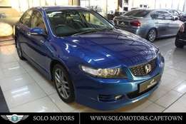 2006 Honda Accord 2.4 Type S Sedan in Blue