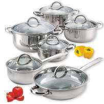 10pices stainless cookware
