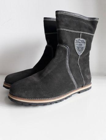 Buty jesień zima ocieplane damskie Tom Tailor botki r. 39 40