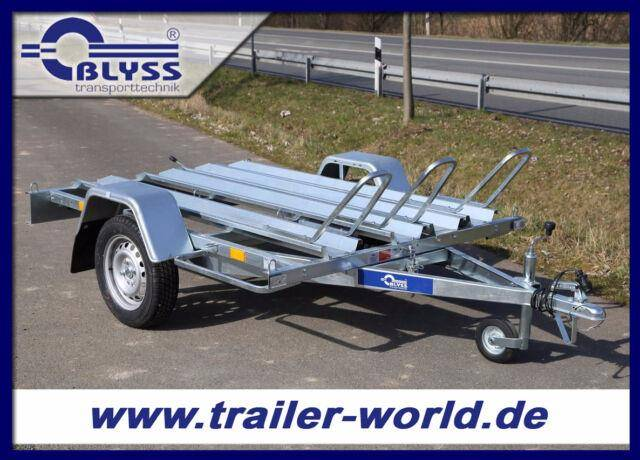 Blyss Motorradanhänger 750kg GG Anhänger 200x122cm