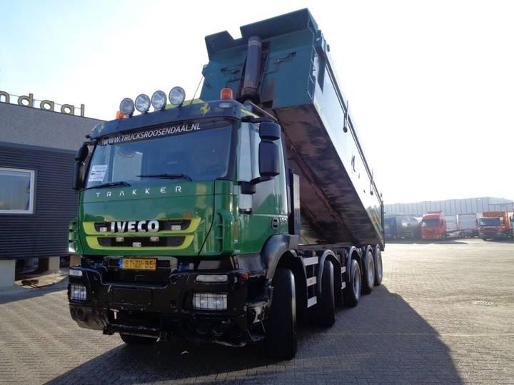 Iveco Trakker 450 + Euro 5 + KIPPER + PTO - 2008