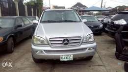 Mercedes Benz ML2003 model