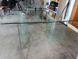 All Glass Table