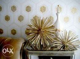 Sea urchin and starburst wall/table decor