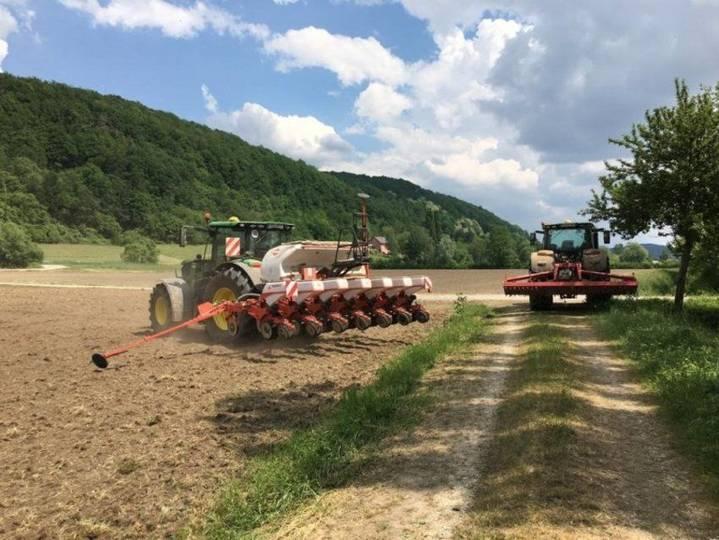 Kuhn Maxima 2 Isobus - 7 Reihiges Mit Unterfußdüngung - Wie Neu Nur 280 Hektar - Bj 2018 - 2018