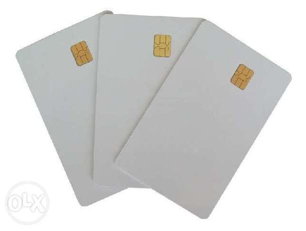 chip card - contact ic card