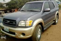 A first body Toyota sequoia