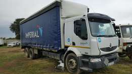 Renault 270dci midlum 207cdi curtain sides on special