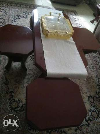 Cofee table with side tables. South 'C' - image 1