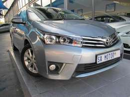 2015 Toyota Corolla 1.8 Executive Automatic