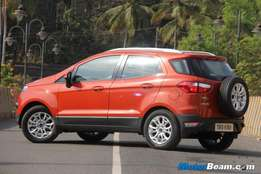 2015 Ford Ecosport 1.5dci trend with 22000 km in Mars Red