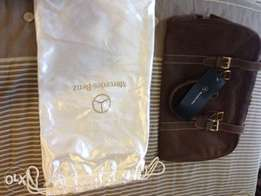 Authentic Limited Edition Mercedes Benz Collectors Travel Bag
