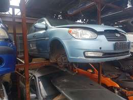 Hyundai Accent Striping for Spares