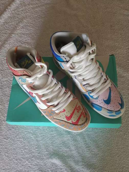 release date bb0c7 fc6e1 Nike SB Thomas Campbell What The Dunk   OLX