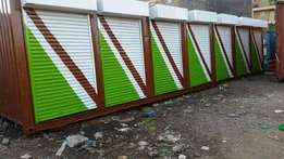 Container Business Stalls 40 ft