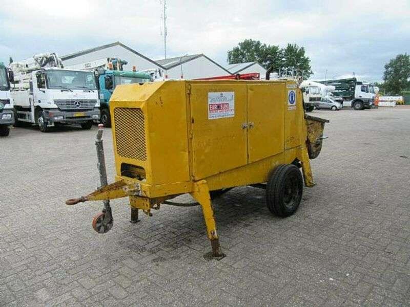 Putzmeister concrete pump bsa 1005 d - 2001 for sale | Tradus
