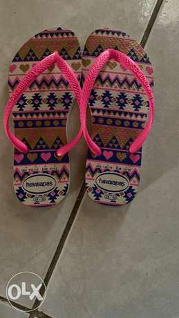 Havaianas slippers( New)