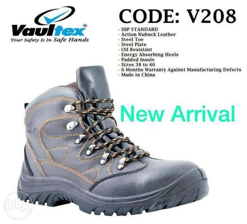 COdE:SbP sTaNDaRd AcTIoN nubuCk LEaTHeR sAfEty SHOEs